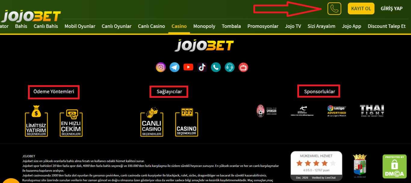 Jojobet Yeni Giriş Adresi İle Finansal İşlemler