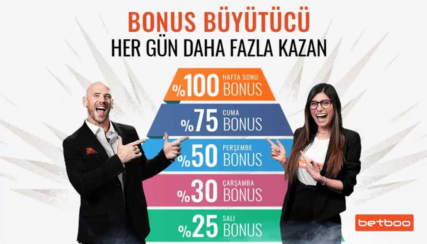 Betboo Bedava Bonus Al