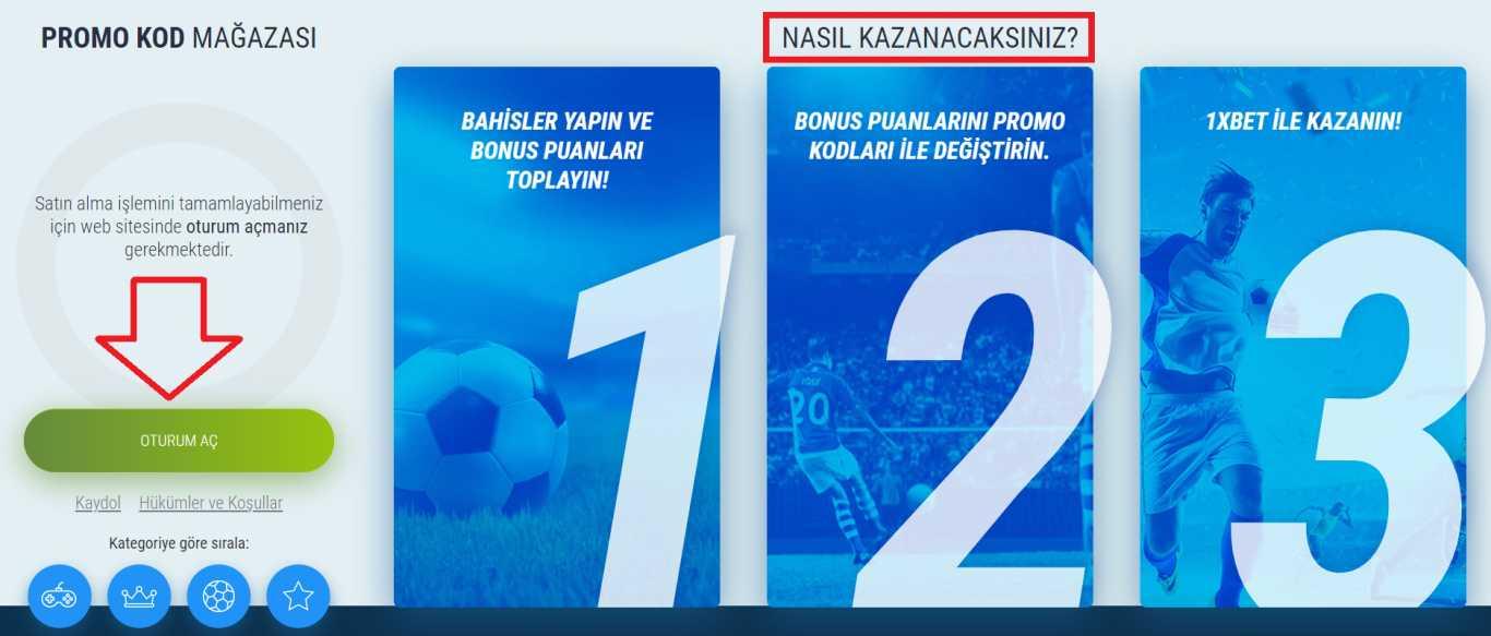 Türkiye İçin Özel 1xBet Promosyon Teklifi Neler